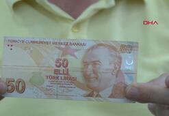 Bankadan çektiği para baskı hatalı çıktı