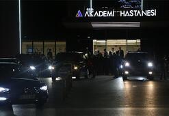 Cumhurbaşkanı Recep Tayyip Erdoğan kalp krizi geçiren yeğenini ziyaret etti
