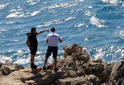 Dün Mersinde denize girdi Cesedi Antalyada bulundu...