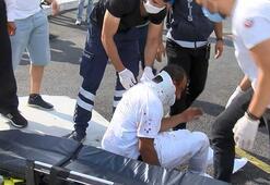 İstanbulda otogarda dehşet Dövüp otomobilden attılar