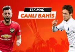 Manchester United - FC Kopenhag maçı Tek Maç ve Canlı Bahis seçenekleriyle Misli.com'da