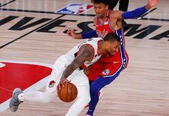NBAde Trail Blazers forması giyen Lillarddan 51 sayı