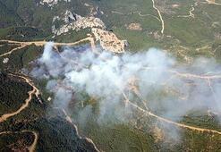İzmir Mendereste çıkan orman yangını kontrol alındı
