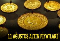 11 Ağustos altın fiyatları canlı takip TIKLA: Bugün gram, çeyrek, yarım ve tam altın fiyatları son dakika ne kadar, kaç lira oldu