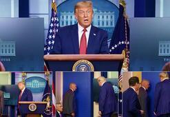 Son dakika... Herkes dondu kaldı Trumpı hemen dışarı çıkardılar...