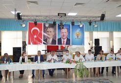 Aydında AK Partili vekiller muhtarlarla buluştu