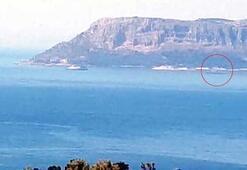 Türk hücumbotu Kaşa, Yunan hücumbotu Meis Adasına demirledi