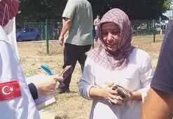 Zonguldakta kaza yapan sürücü gözyaşlarına hakim olamadı