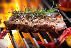 Mangalda lezzetli et pişirmenin sırrı buymuş