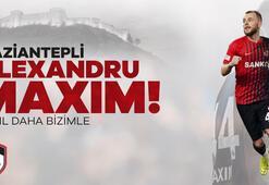 Alexandru Maxim 2 yıl daha Gaziantep FKde