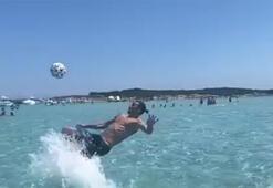 Ibrahimovic denizde röveşata çekti...