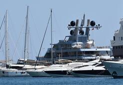 Rus milyarderin lüks yatı, Marmarise 1,5 milyon lira kazandırdı