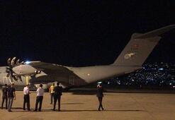 Son dakika... Türkiyeden Lübnana yardım eli Beyruta indi