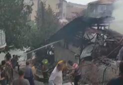 Çorumda ev yangınında 4ü çocuk 5 kişi hayatını kaybetti