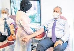 Adalet Bakanı Gül kan bağışı yaptı