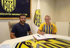 MKE Ankaragücü, Daniel Lukasikin bonservisini aldı