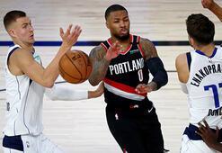 NBAde Portland Trail Blazers, Lillardın üstün performansıyla kazandı