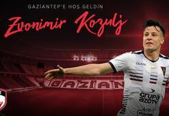 Gaziantep FK, Bosna Hersekli futbolcu Zvonimir Kozulju kadrosuna kattı