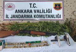 Başkentte iki uyuşturucu operasyonunda 3 zanlı yakalandı