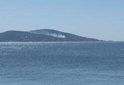 Son dakika... Büyükadadan dumanlar yükseldi
