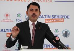 Bakan Kurum, Ankarada 451 konutun temelini attı