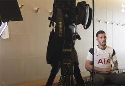Yeni transfer Højbjergin Tottenhamdaki ilk günü...