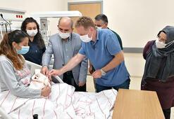 Konya Şehir Hastanesinde ilk bebek dünyaya geldi