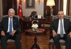 Çavuşoğlu, BM 75inci Genel Kurul Başkanı Bozkır ile görüştü
