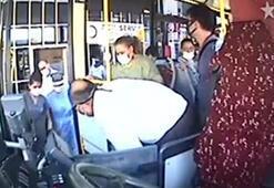 Otobüs şoförü, fenalaşan yolcuyu hastaneye yetiştirdi