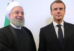 Ruhani ile Macron nükleer anlaşma ve Lübnandaki durumu görüştü