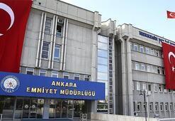 Ankara Emniyet Müdürlüğünde görev değişikliği
