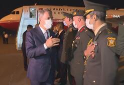 Millî Savunma Bakanı Hulusi Akar ve TSK Komuta Kademesi Bakü'de