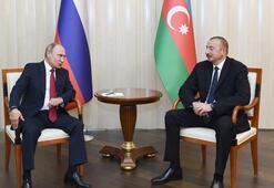 Putin ve Aliyevden dikkat çeken görüşme