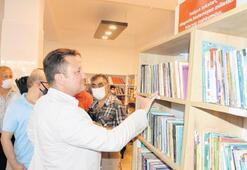 Köy çocukları kitapla buluştu