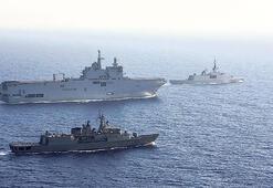 Yunanistan ve Fransa'dan Akdeniz'de ortak tatbikat