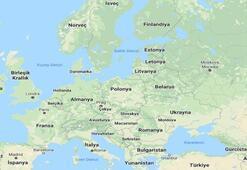 Avrupa Haritası (Fiziki, Siyasi, Dilsiz): Avrupa Kıtasında Olan Ülkeler, Akarsular, Göller Nelerdir