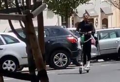 Ricardo Quaresmanın scooter keyfi...