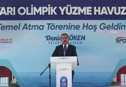Bakan Kasapoğlu, İstanbulda yüzme havuzu temel atma törenine katıldı