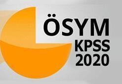 KPSS önlisans, ortaöğretim, DHBT başvuruları ne zaman KPSS 2020 başvuru tarihleri...