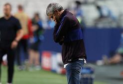 Barcelonada Quique Setienin görevine son verildi