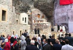 Sümela Manastırı'nda 5 yıl aradan sonra yapılacak ayin için geldiler