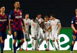 Barcelonanın Bayern Münihe tarihi yenilgisi İspanyol basınında