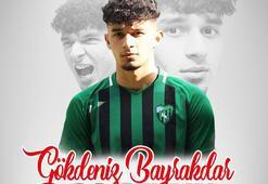 Antalyaspor, genç forvet Gökdeniz Bayrakdarla sözleşme imzaladı