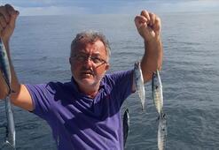 Karadenizde sezonun ilk palamutları avlandı