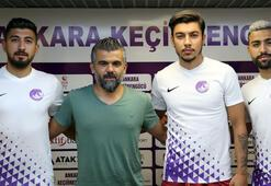 Ankara Keçiörengücü, 3 futbolcuyu daha kadrosuna kattı