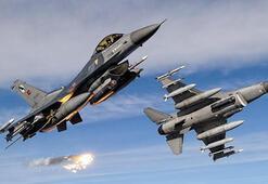 Irakın kuzeyine hava harekatı 9 terörist etkisiz hale getirildi