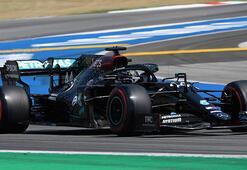 Formula 1 İspanyada pole pozisyonu Hamiltonın