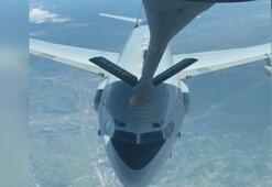 Türk Hava Kuvvetlerinden NATO uçağına akıt ikmail