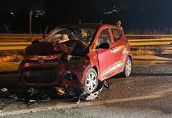 Bursa- Ankara karayolunda zincirleme kaza: 1i bebek 6 yaralı