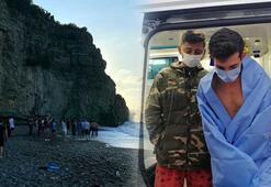 Zonguldakta koyda mahsur kalan 8 kişi kurtarıldı
